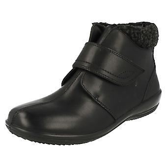 Ladies Padders Smart Ankle Boots Ida