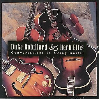 Robillard/Ellis - samtaler i Swing Guitar [CD] USA import