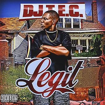 DJ T.E.C. - Legit [CD] USA import