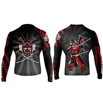 Raven Fightwear Bushido Rash Guard - Red
