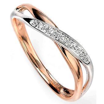 9 ct Gold Diamantring