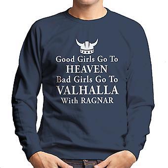 قميص من النوع الثقيل للفتيات جيدة فالهالا راغنار الرجال