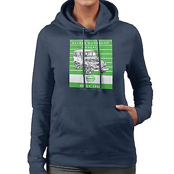Haynes Workshop Manual 0313 Toyota Landcruiser Stripe Women's Hooded Sweatshirt