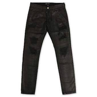 Embellish NYC Phantom Ripped Standard Denim Jeans Black Wax
