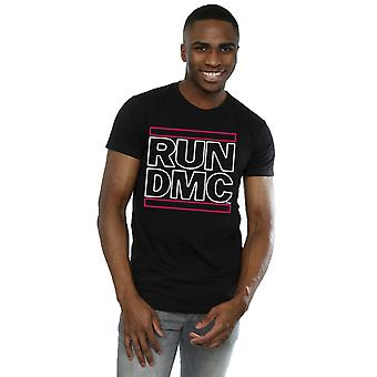 Run DMC Men's Neon Logo T-Shirt