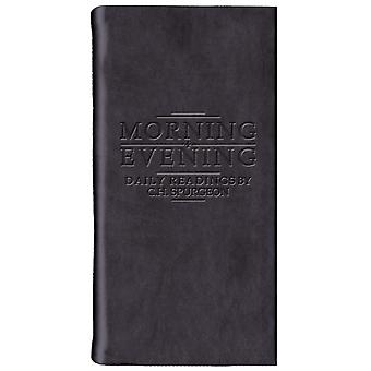 Morning And Evening - Matt Black (Daily Readings) (Leather Bound) by Spurgeon C.H.