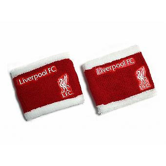 Liverpool FC Official Football Sweatbands (Set Of 2)