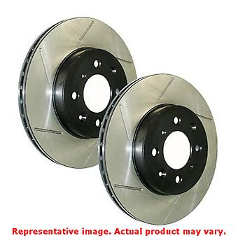 StopTech Brake Rotor - SportStop Slotted 126.58009SR Rear Right Fits:JEEP 2012