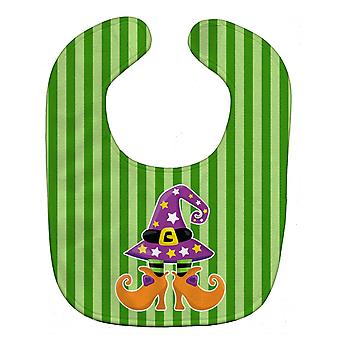 Carolines Treasures  BB9107BIB Halloween Witch's Feet Baby Bib
