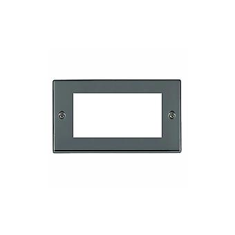 Hamilton Litestat Hartland Black Nickel 4 Euro Apert 100X50+Grid