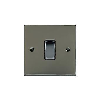 Hamilton Litestat Cheriton Victorian Black Nickel 1g 10AX Inter Rkr BK/BL