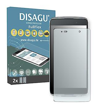 Alcatel OneTouch Idol 3 Lite screen protector - DISAGU FullFlex protector