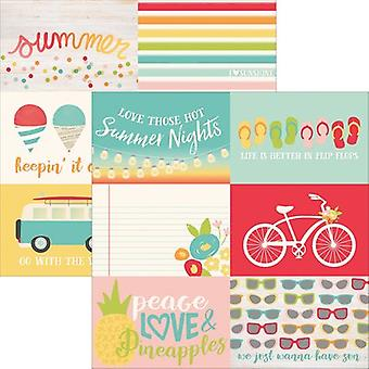 Summer Days Double-Sided Elements Cardstock 12