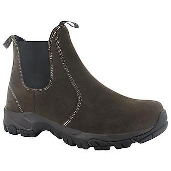 Hi Tec Altitude Chelsea Lite I Mens Pull On Leather Ankle Boots