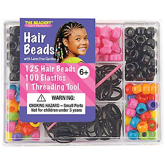 Small Hair Bead Kit Circus 6549