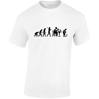Fast Food Evo Evolution Kids Unisex T-Shirt 8 kleuren (XS-XL) door swagwear