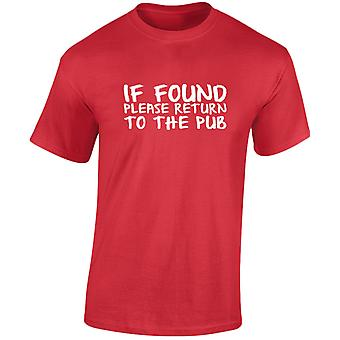 If Found Return To The Pub Mens T-Shirt 10 Colours (S-3XL) by swagwear