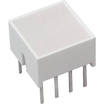 LED component Yellow (L x W x H) 10.28 x 10.16 x 10.16 mm Broad