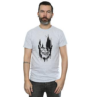 The Avengers Herren Infinity Krieg Thanos Gesicht T-Shirt