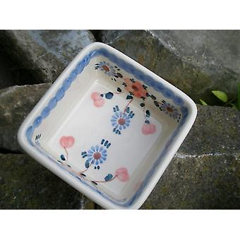 Square Bowl, 9.5 x 9.5 cm, ↑4, 5 cm, tradition 53, BSN m 1973