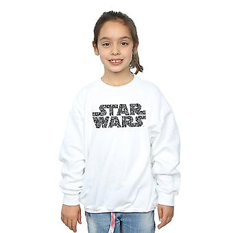 Star Wars Girls Paisley Logo Sweatshirt