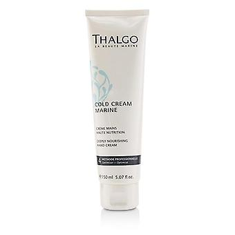 Thalgo Cold Cream Marine Deeply Nourishing Hand Cream - For Dry Very Dry Hands (Salon Size) - 150ml/5.07oz