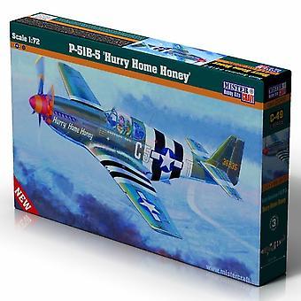 Mister håndværk 1: 72 P-51 Mustang B-5 Skynd dig hjem honning