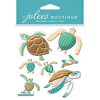 Jolee's Boutique Dimensional Stickers-Sea Turtles