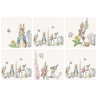 Stow Green Classic Peter Rabbit Set of 6 Coasters