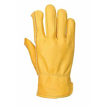 Portwest - (1 Pair Pack) Thinsulate Lined Plant Drivers Hand Protection Glove