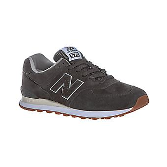 New balance ML574 sneaker real leather grey