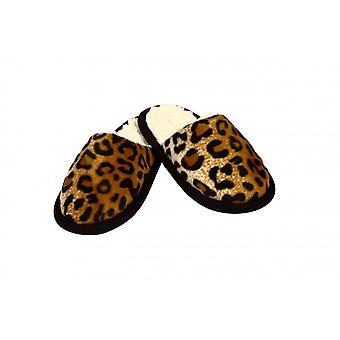 Pantoffel Tieroptik Gepardfell 40/41