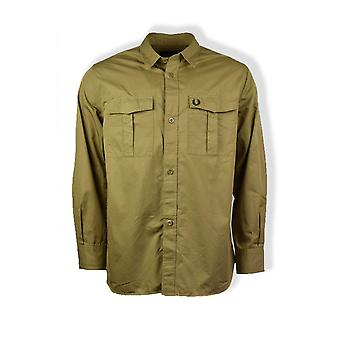 Fred Perry Utility Overshirt (Elmwood)