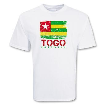 Togo piłki nożnej T-shirt
