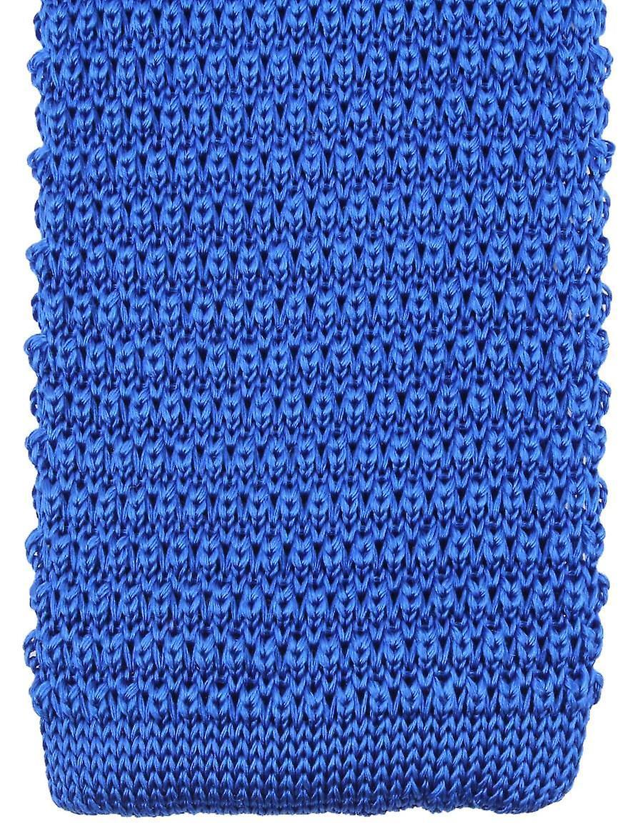 Knightsbridge cravates Knitted cravate - Royal bleu