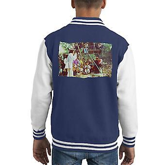 TV Times Rolling Stones Festival Kid's Varsity Jacket