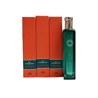 Hermes Eau d ' Orange Verte Eau de Cologne-Set 3 x 0,5 OZ