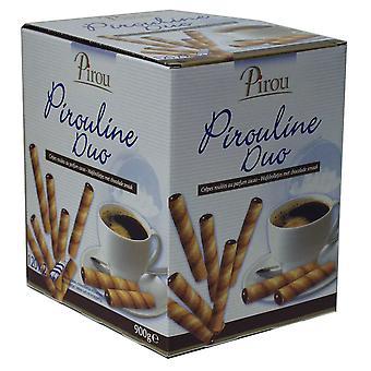 SPIE Pirouline Schokolade ausgekleidet Wafer-Sticks (Twin gewickelt)
