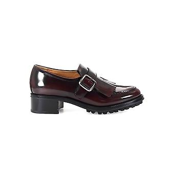 CHURCH'S PILAR BURGUNDY LOAFER