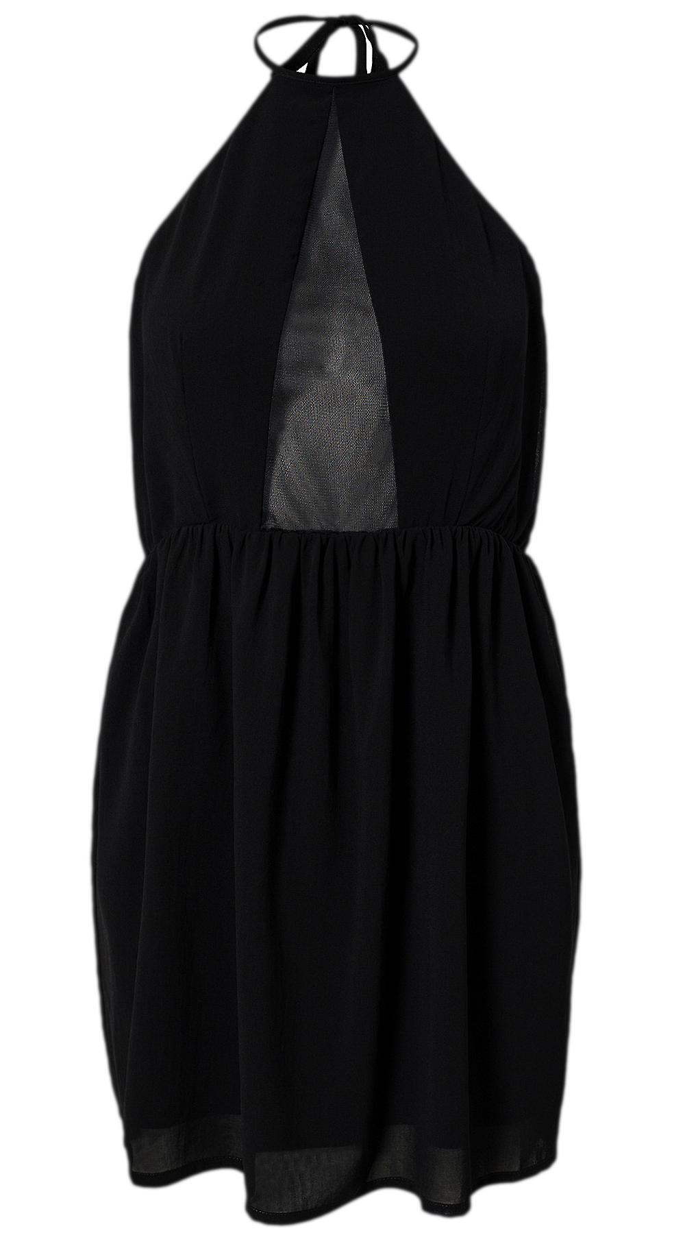 Waooh - On Summer Neckline Dress With Semi-Transparent Formen