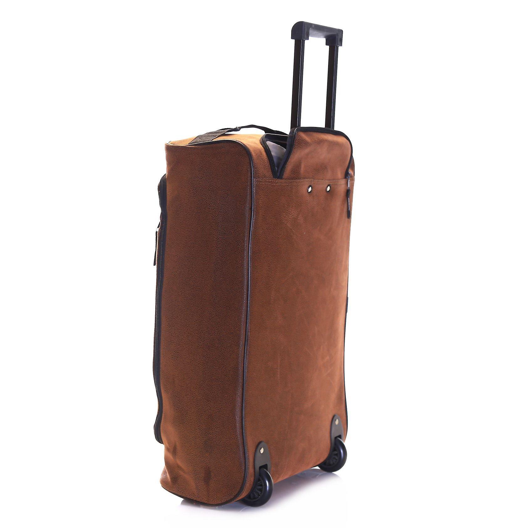 Karabar Hudson Wheeled Cabin Bag, Brown