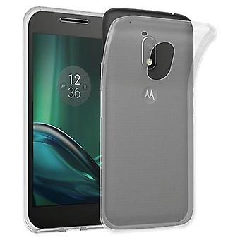 Caso Cadorabo para Motorola MOTO G4 jogar - móvel capa de silicone TPU no ultra slim 'Ar' design - silicone capa case capa macia caso para-choques