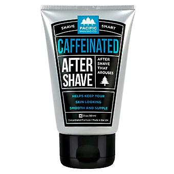 Pacific shaving co. caffeinated after shave cream, 3 oz