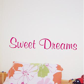 Wall art sticker - sweet dreams