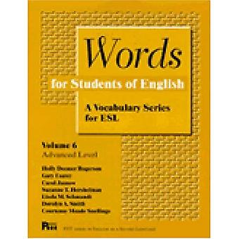 Words for Students of English : A Vocabulary Series for ESL