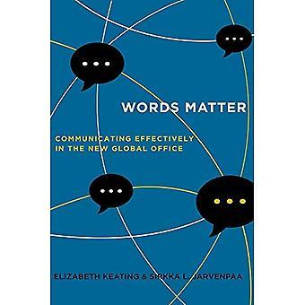 Questão de palavras: Comunicar-se eficazmente no novo escritório Global