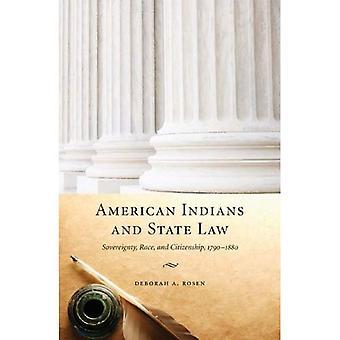 Los indios americanos y la ley del estado: soberanía, raza y nacionalidad, 1790-1880