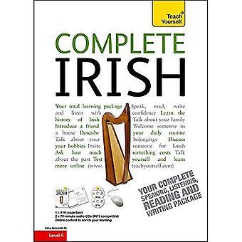 Ukończ irlandzki dla początkujących kurs pośredni: (książki i wsparcie audio) nauczyć się czytać, pisać, mówić i rozumieć...