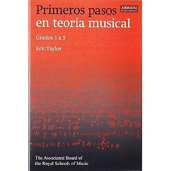 Primeros pasos da teoro en musical: Grados 1 en 5 (spanske udgave)
