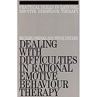 Tratar con dificultades en la terapia de comportamiento emotiva racional